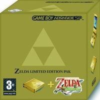 Príslušenstvo pre GameBoy Advance Game Boy Advance SP + Zelda: The minish Cap Pak