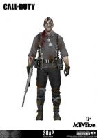 Figúrka Call of Duty - John Soap MacTavish (exkluzívny)