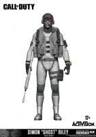 Figúrka Call of Duty - Simon Ghost Riley (exkluzívny)