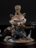 Figúrka Guardians of Galaxy - Rocket & Groot (Q-Fig, 14 cm)