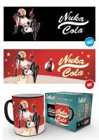 Hrnček Fallout - Nuka Cola Heat Change