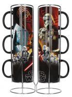 Hračka Hrnek Star Wars - Sada 3ks hrnků First Order