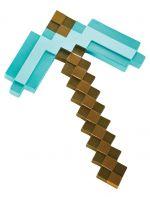 Replika krumápča Minecraft - Diamond Pickaxe 40 cm