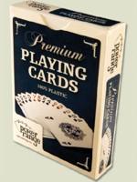 Stolová hra Karty na poker plastové - jeden balíček