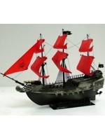 Pirátska loď (červená Loď duchov)