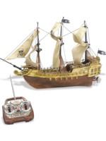 Pirátska loď (biela)
