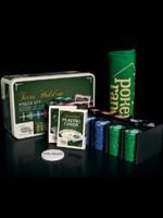 Stolová hra Poker set - 200 žetónov + plátno