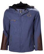 oblečení pro hráče Bunda Assassins Creed Unity - Modro-hnědá (velikost XL)