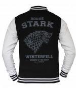 oblečení pro hráče Bunda Game of Thrones - Stark College Jacket (velikost XL)