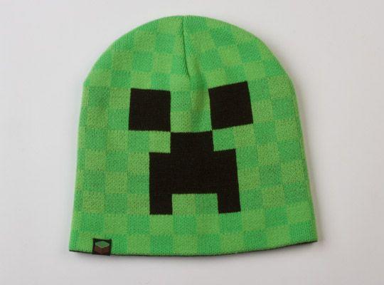 53024475902 Čepice Minecraft Creeper Face Beanie (vel. S M) Hračka - GameExpres.cz