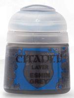 Citadel Base Paint - základní barva, šedá (Eshin Grey) (STHRY)