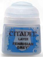Citadel Base Paint - základní barva, šedá (Fenrisian Grey) (STHRY)