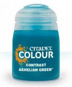 Stolní hra Citadel Contrast Paint (Akhelian Green) - kontrastní barva - modrá