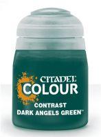 Citadel Contrast Paint (Dark Angels Green) - kontrastná farba - zelena (STHRY)