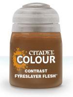 Citadel Contrast Paint (Fyreslayer Flesh) - kontrastná farba - hnedá (STHRY)