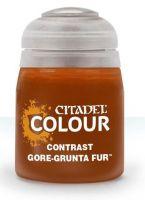 Citadel Contrast Paint (Gore-grunta Fur) - kontrastná farba - hnedá (STHRY)