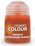 Citadel Contrast Paint (Gryph-hound Orange) - kontrastná farba - oranžová (STHRY)
