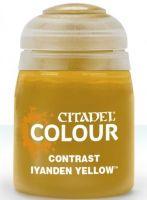 Stolní hra Citadel Contrast Paint (Iyanden Yellow) - kontrastní barva - žlutá