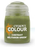 Citadel Contrast Paint (Militarum Green) - kontrastná farba - zelená (STHRY)