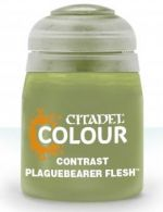 Citadel Contrast Paint (Plaguebearer Flesh) - kontrastná farba - zelená (STHRY)