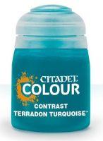 Stolní hra Citadel Contrast Paint (Terradon Turqoise) - kontrastní barva - tyrkysová
