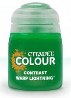 Citadel Contrast Paint (Warp Lightning) - kontrastná farba - zelená (STHRY)
