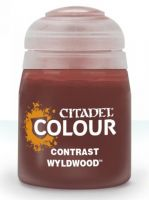 Citadel Contrast Paint (Wyldwood) - kontrastná farba - hnedá (STHRY)