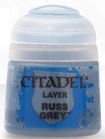 Stolová hra Citadel Layer Paint (Russ Grey) - krycí barva, šedá