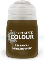 Stolová hra Citadel Technical Paint (Stirland Mud) - textúrová farba - bahno