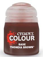 Stolová hra Citadel Base Paint (Thondia Brown) - základná farba, hnedá