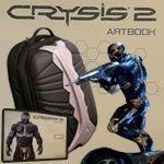 Crysis 2 bonusové predmety (batoh, figúrka, artbook)