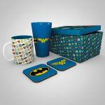 Darčekový set DC Comics - Logos (hrnček, pohár, podtácky) (HRY)