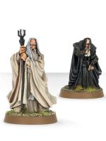 Stolová hra The Lord of The Rings - Saruman the White a Gríma Wormtongue (figurky) (STHRY)