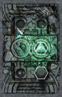 Stolová hra Warhammer Underworlds: Forbidden Chambers (herná doska) (STHRY)