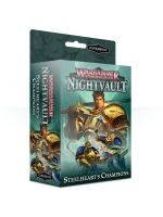 Stolová hra Warhammer Underworlds: Nightvault – Steelhearts Champions (rozšírenie) (STHRY)
