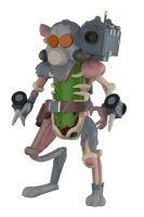 Hračka Figurka akční Rick and Morty - Pickle Rick (Funko)