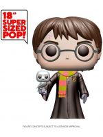 Figúrka Harry Potter - Harry Potter with Hedwig (Funko Super Sized POP! Movies) (HRY)
