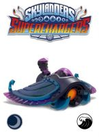 Figúrka Skylanders Superchargers: Sea Shadow (HRY)
