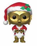 Figúrka Star Wars - C-3PO Holiday Santa (Funko POP! Bobble-Head)
