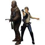 Figúrky (Kotobukiya) Star Wars: Solo & Chewbacca (20cm)