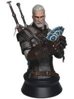 Figúrka Zaklínač III: Geralt hrajúci Gwint