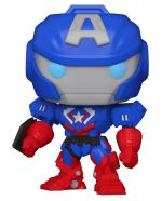 Figúrka Avengers Mech Strike - Captain America (Funko POP! Marvel 829) (HRY)