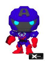 Figúrka Avengers Mech Strike - Captain America Glow in the Dark (Funko POP! Marvel 829) (HRY)