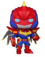 Figúrka Avengers Mech Strike - Captain Marvel (Funko POP! Marvel 831) (HRY)