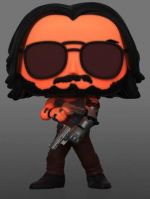 Figúrka Cyberpunk 2077 - Johnny Silverhand with Gun Glow in the Dark (Funko POP! Games 592) (HRY)