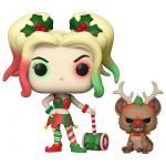 Hračka Figurka DC Comic - Holiday Harley Quinn with Helper (Funko POP! DC 357)