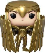 Figúrka DC Comic - Wonder Woman Golden Armor Shield Special Edition (Funko POP! Heroes 329)