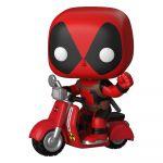 Hračka Figurka Deadpool - Deadpool on Scooter (Funko POP! Rides 48)