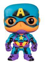 Hračka Figurka Marvel - Black Light Captain America (Funko POP! Marvel 648)