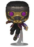 Hračka Figurka Marvel: What If...? - T'Challa Star-Lord (Funko POP! Marvel 871)